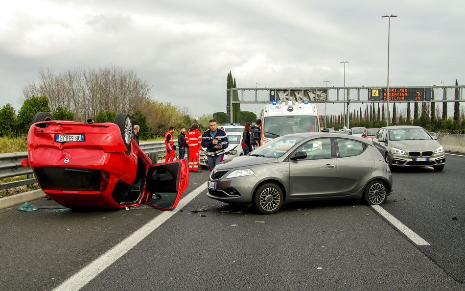 Coches accidentados